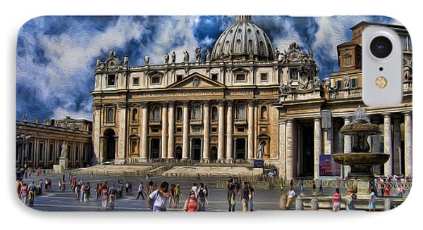 Vatican City - The Bishop Of Rome's Home IPhone Case by Lee Dos Santos