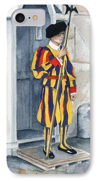 Vatican Guard Phone Case by Marsha Elliott