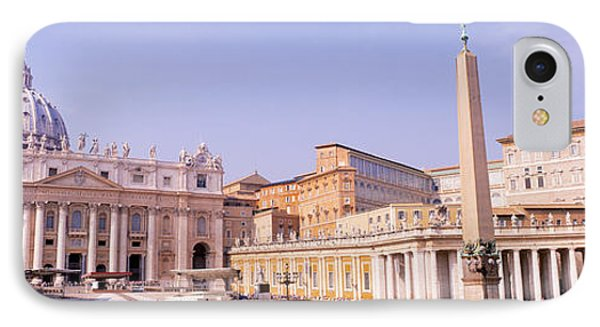 Vatican, St Peters Square, Rome, Italy IPhone Case by Panoramic Images