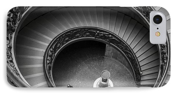 Vatican Stairs IPhone Case by Adam Romanowicz