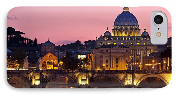 Vatican Twilight IPhone Case by Brian Jannsen