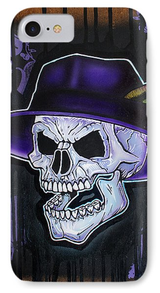 Vato Skull IPhone Case by Jon Jochens