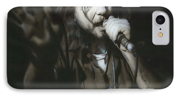 Eddie Vedder - ' Vedder IIi ' IPhone Case by Christian Chapman Art