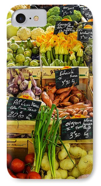 Veg At Marche Provencal IPhone Case