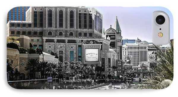 Vegas Fading IPhone Case by Camille Lopez
