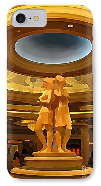 Vegas Hotel Interior Phone Case by John Malone