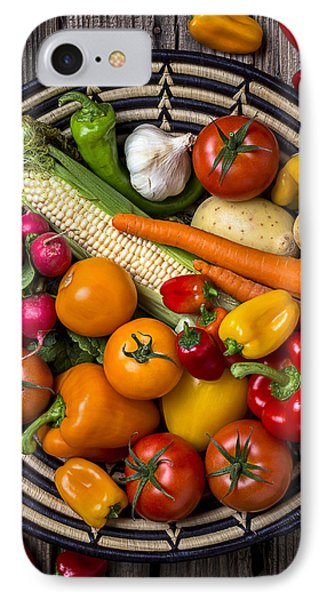 Vegetable Basket    IPhone 7 Case by Garry Gay