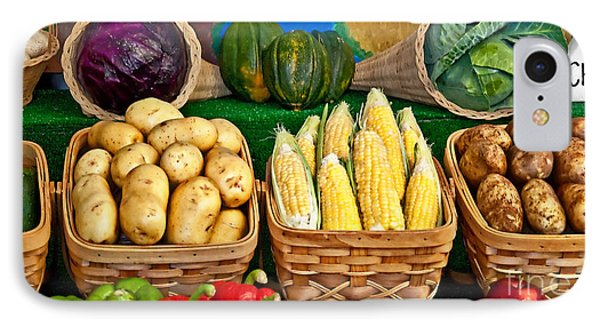 Vegetable Bounty Phone Case by Valerie Garner