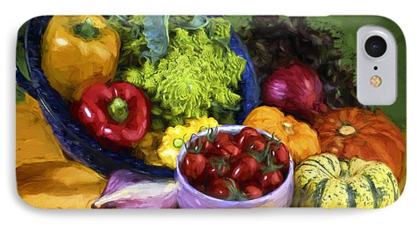 Veggie Bowl  IPhone Case by Mauro Celotti