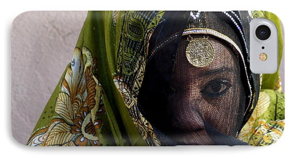 Veiled IPhone Case by Debi Demetrion