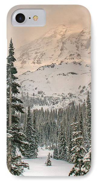 IPhone Case featuring the photograph Veiled Mountain by Jeff Cook