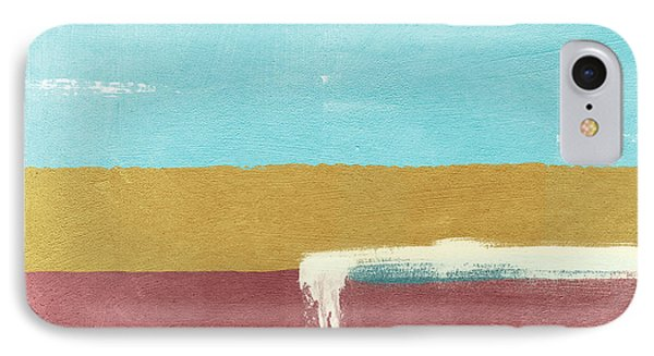 Velvet Horizon- Abstract Landscape IPhone Case