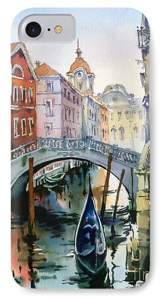 Venetian Canal Vi IPhone Case