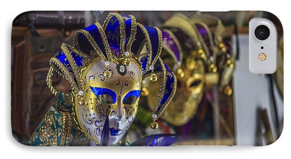 Venetian Carnival Masks Cadiz Spain IPhone Case by Pablo Avanzini