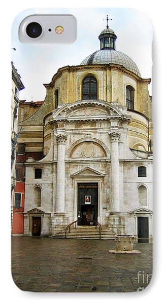 Venetian Church Phone Case by John Rizzuto