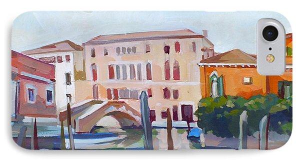 Venetian Cityscape IPhone Case by Filip Mihail