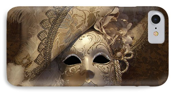 Venetian Face Mask F IPhone Case by Heiko Koehrer-Wagner