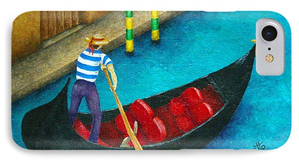 Venetian Gondolier IPhone Case