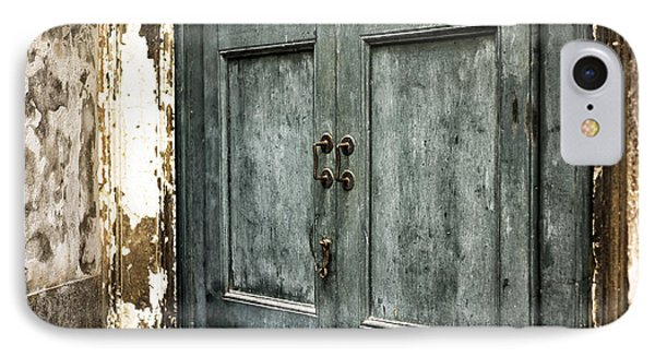 Venetian Green Door IPhone Case