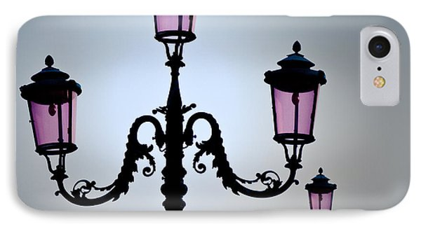 Venetian Lamps Phone Case by Dave Bowman