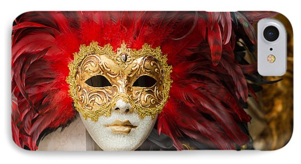Venetian Mask IPhone Case by Hans Engbers