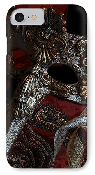 After The Carnival - Venetian Mask IPhone Case