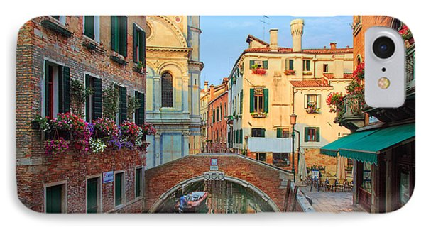 Venetian Paradise Phone Case by Inge Johnsson