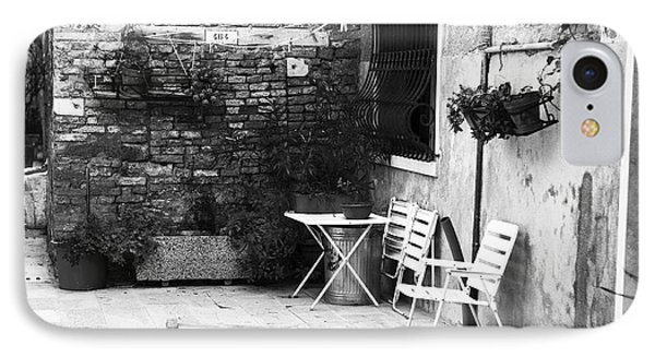 Venetian Street Scene Phone Case by John Rizzuto