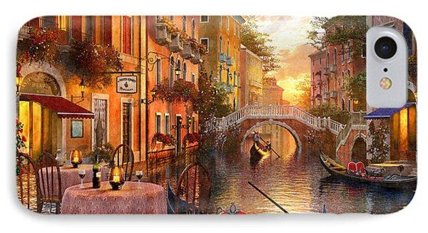 Venetian Sunset IPhone Case by Dominic Davison