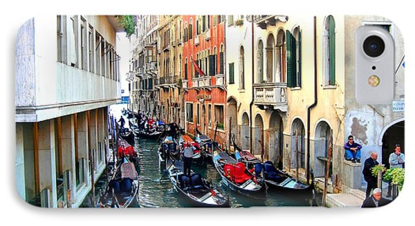 Venetian Traffic Jam IPhone Case