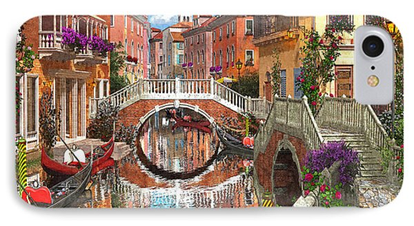 Venetian Waterway Phone Case by Dominic Davison