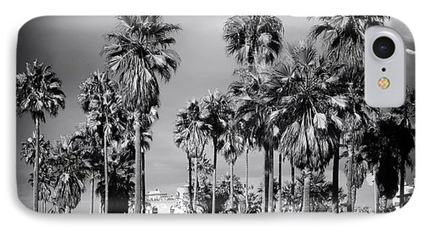 Venice Beach Palms Phone Case by John Rizzuto