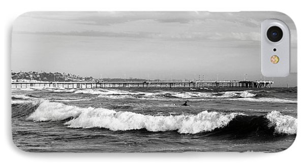 Venice Beach Waves IIi Phone Case by John Rizzuto