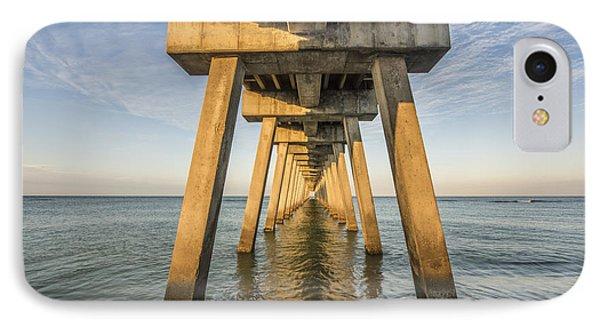 Venice Below The Pier IPhone Case by Jon Glaser