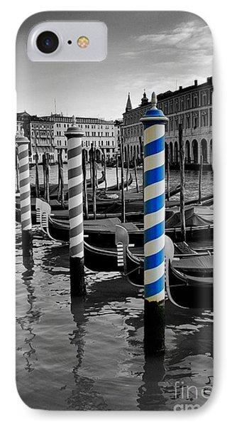 Venice Blue IPhone Case by Henry Kowalski