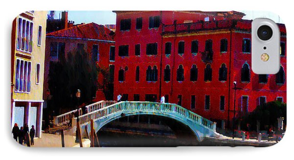 Venice Bow Bridge Phone Case by Bill Cannon