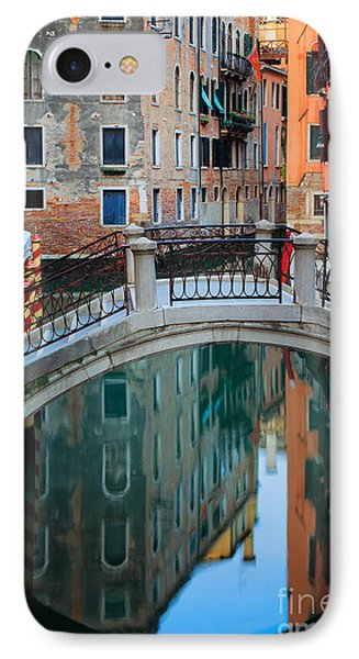 Venice Bridge Phone Case by Inge Johnsson