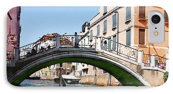 Venice Bridge IPhone Case by Irina Sztukowski