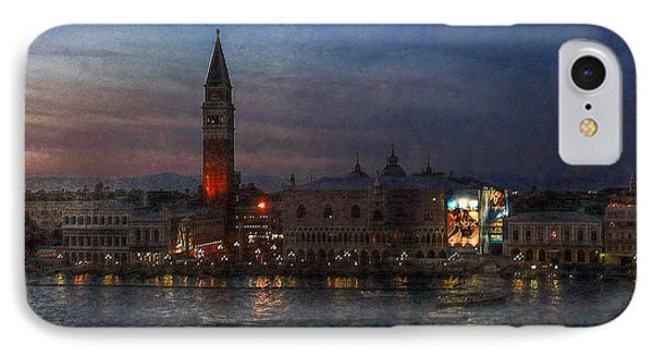 IPhone Case featuring the photograph Venice By Night by Hanny Heim