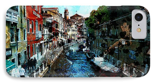Venice Canal Phone Case by Claire Bull