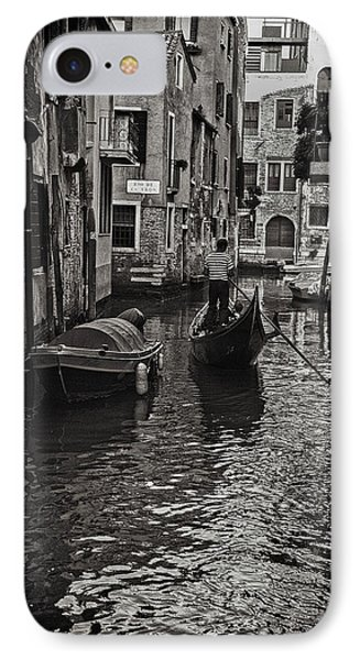 Venice Canal Memory IPhone Case by Madeline Ellis