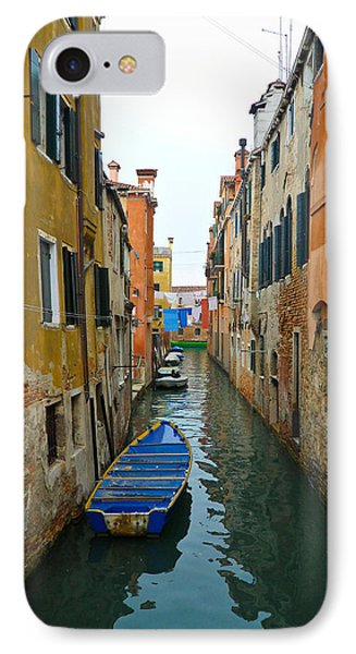 IPhone Case featuring the photograph Venice Canal by Silvia Bruno