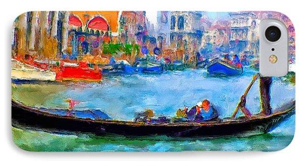 Venice Canals Gondola Phone Case by Yury Malkov