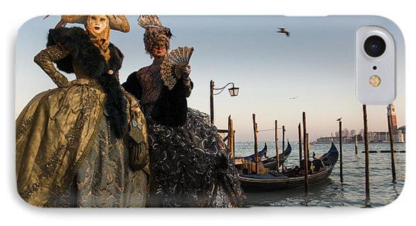 Venice Carnival '15 IIi IPhone Case by Yuri Santin