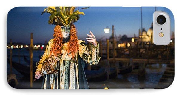 Venice Carnival '15 Vi IPhone Case by Yuri Santin