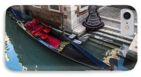 Venice Carnival '15 IPhone Case by Yuri Santin