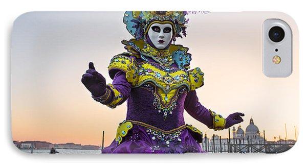 Venice Carnival Iv IPhone Case by Yuri Santin