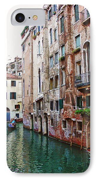 Venice City Of Water 2 Phone Case by Julie Palencia