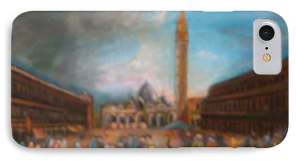 IPhone Case featuring the painting Venice by Egidio Graziani