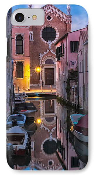 Venice Evening IPhone Case by Joan Herwig